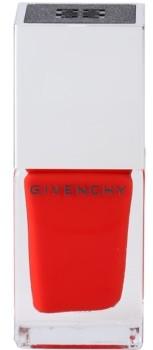 Givenchy Le Vernis dobrze kryjący lakier do paznokci odcień 06 Carmin Escarpin 10 ml