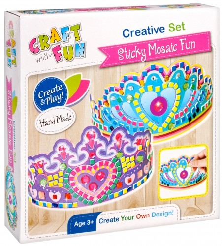 Craft with Fun Zestaw kreatywny Korona 22x22x5 Pud24