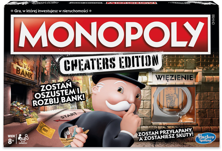 Hasbro Monopoly: Cheaters