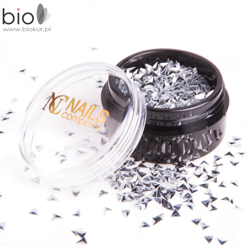 Nails Company 3D NC Diamonds no.3 srebrne NOWOŚĆ!