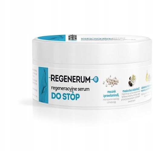 Regenerum Regeneracyjne serum do stóp 125ml