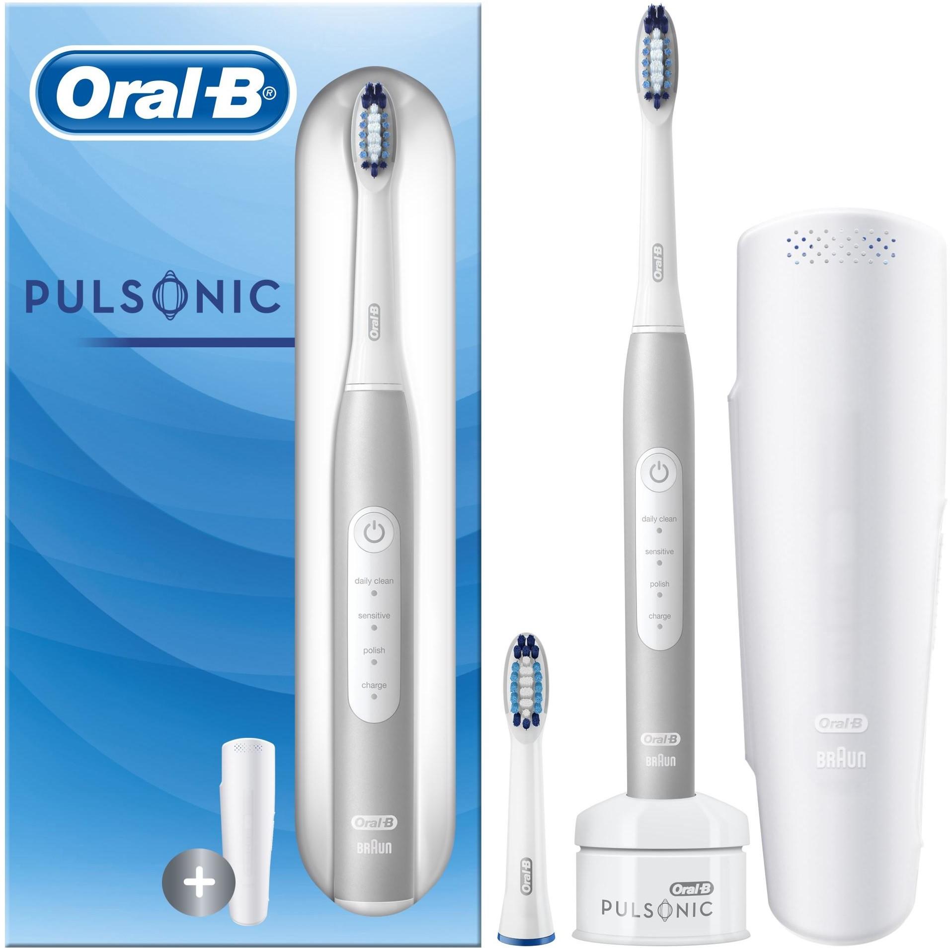 Oral-B Oral B szczoteczka do zębów Pulsonic Slim Luxe 4200 White Ecom pack