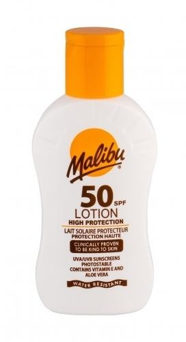 MALIBU Lotion SPF 50 preparat do opalania ciała 100 ml unisex