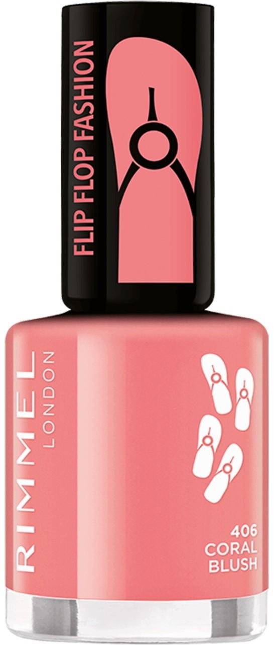 Rimmel Flipflop Fashion 8 ml Lakier do paznokci 406 Coral Blush