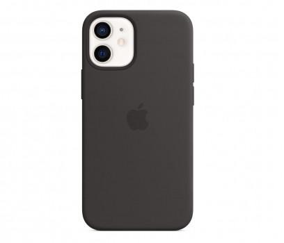 Apple Silikonowe etui iPhone 12 mini czarne