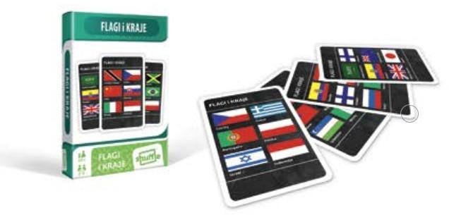 Cartamundi Karty Kraje i Flagi
