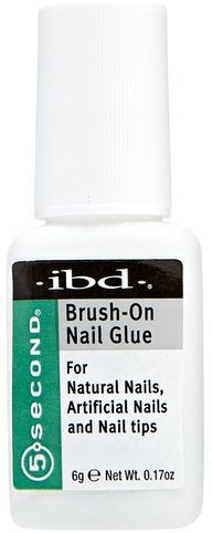 IBD Klej do tipsów Brush on nail Glue 6g