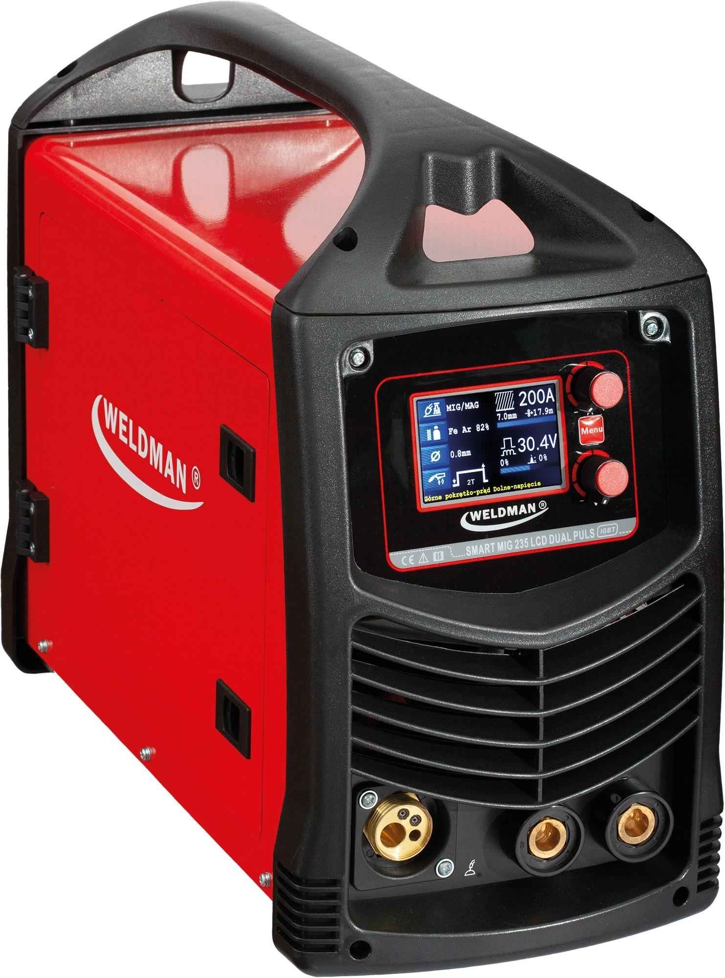 Weldman Spawarka Smart MIG 235 LCD Syn Dual Puls - zestaw : Wyposażenie - pakiety - Pakiet akcesoriów 4 103 134_pakiet4