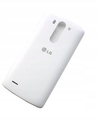 LG Klapka Tylnia Baterii G3 Biały Org