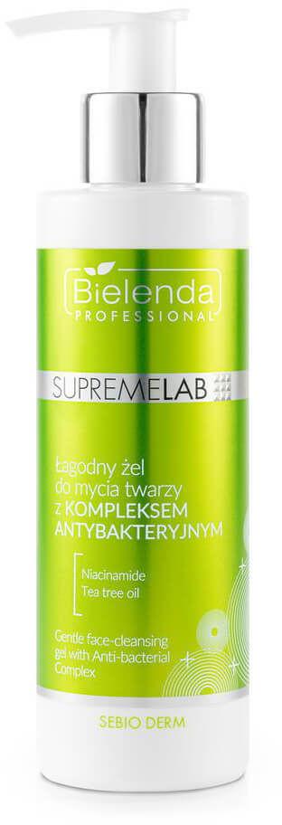 Bielenda Bielenda Professional SupremeLab Sebio Derm Żel z komplekesm antybakteryjnym do mycia twarzy 200ml 16891