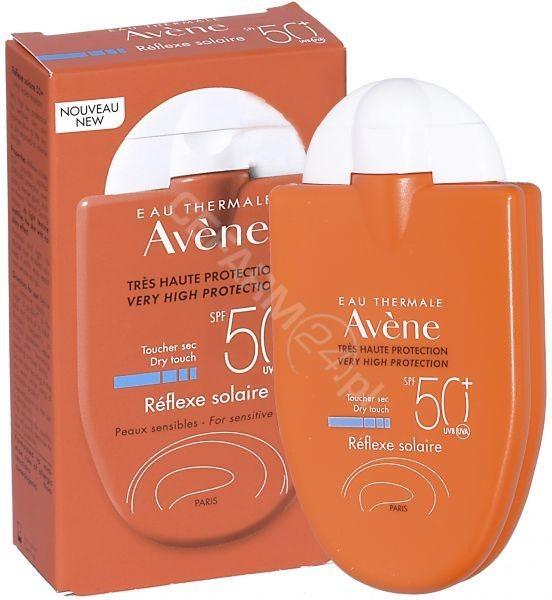 Avene emulsja refleks słoneczny formuła suchy dotyk do skóry wrażliwej SPF 50+ 30 ml