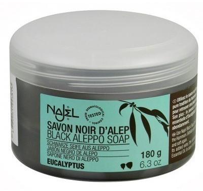 SATIS SA Savon noir EUKALIPTUS (czarne mydło) 180g Najel SA3813