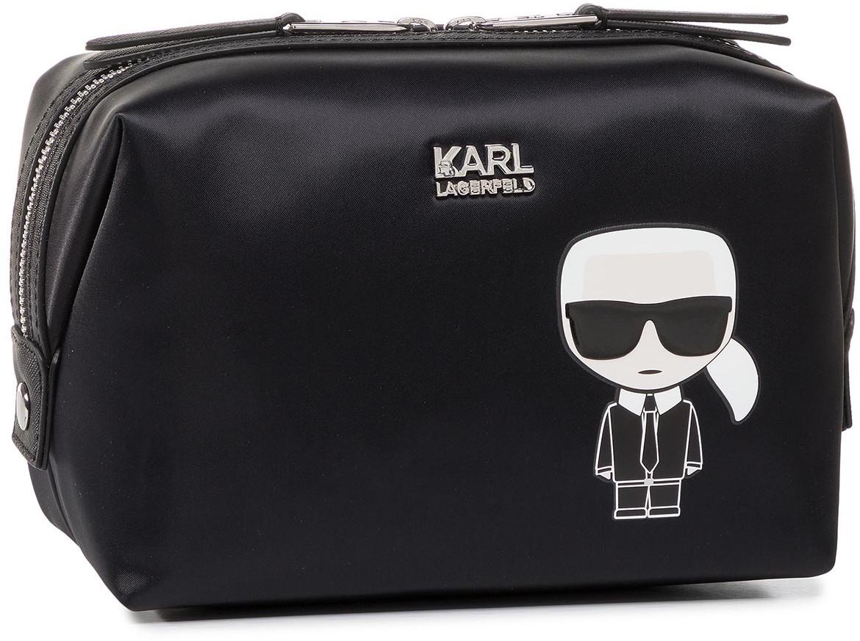 Karl Lagerfeld Kosmetyczka KARL LAGERFELD - 201W3201  Black