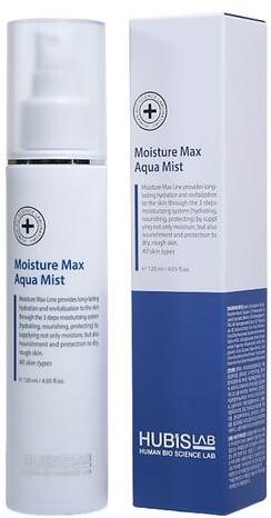 Hubislab Mgiełka do twarzy Moisture Max Aqua Mist  - 120 ml