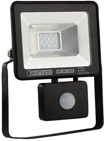IDEUS Naświetlacz LED z czujnikiem ruchu PUMA 10W Czarny IDEUS 02957