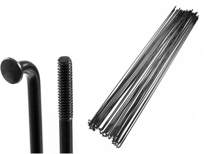 Sapim Szprycha Sapim Laser Black cieniowana 2 x 1,5 x 2 mm x 275 mm 2010000029954