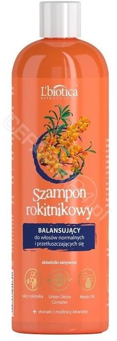 Lbiotica Vita Organica szampon rokitnikowy balansujący 380 ml