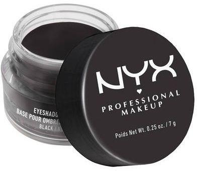 NYX professional makeup Professional Makeup Eyeshadow Base Black Baza pod Cienie Czarna 3510