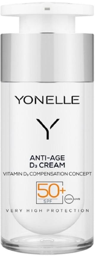 Yonelle Anti-Age D3 Cream SPF50 przeciwzmarszczkowy krem do twarzy 30ml