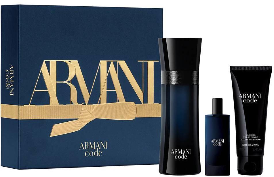 Giorgio Armani Giorgio GIORGIO Code Pour Homme EDT 75ml + EDT 15ml + 75ml 93413-uniw