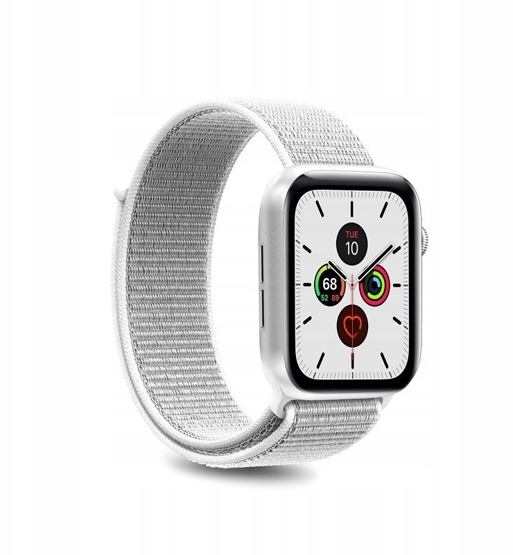 PURO Nylon - Pasek do Apple Watch 38 / 40 mm (Biał
