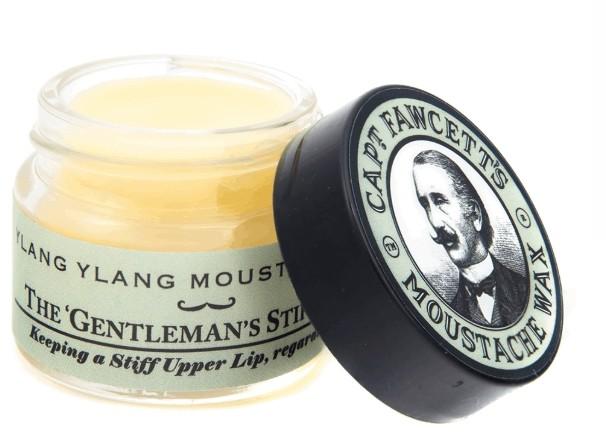 Captain Fawcett's Captain Fawcett The Gentleman's Stiffener Ylang Ylang wosk do wąsów słoiczek 15 ml CF WOSK YLANG YLANG