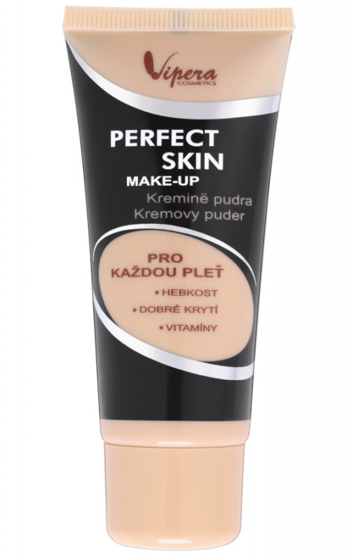 Vipera PERFECT SKIN MAKE-UP - Fluid kryjący z witaminami - 033 - CAPPUCCINO VIPPS0CA