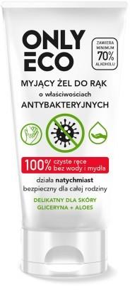 Eco ONLY (środki czystości) ŻEL MYJĄCY DO RĄK O DZIAŁANIU ANTYBAKTERYJNYM 50 ml - ONLY