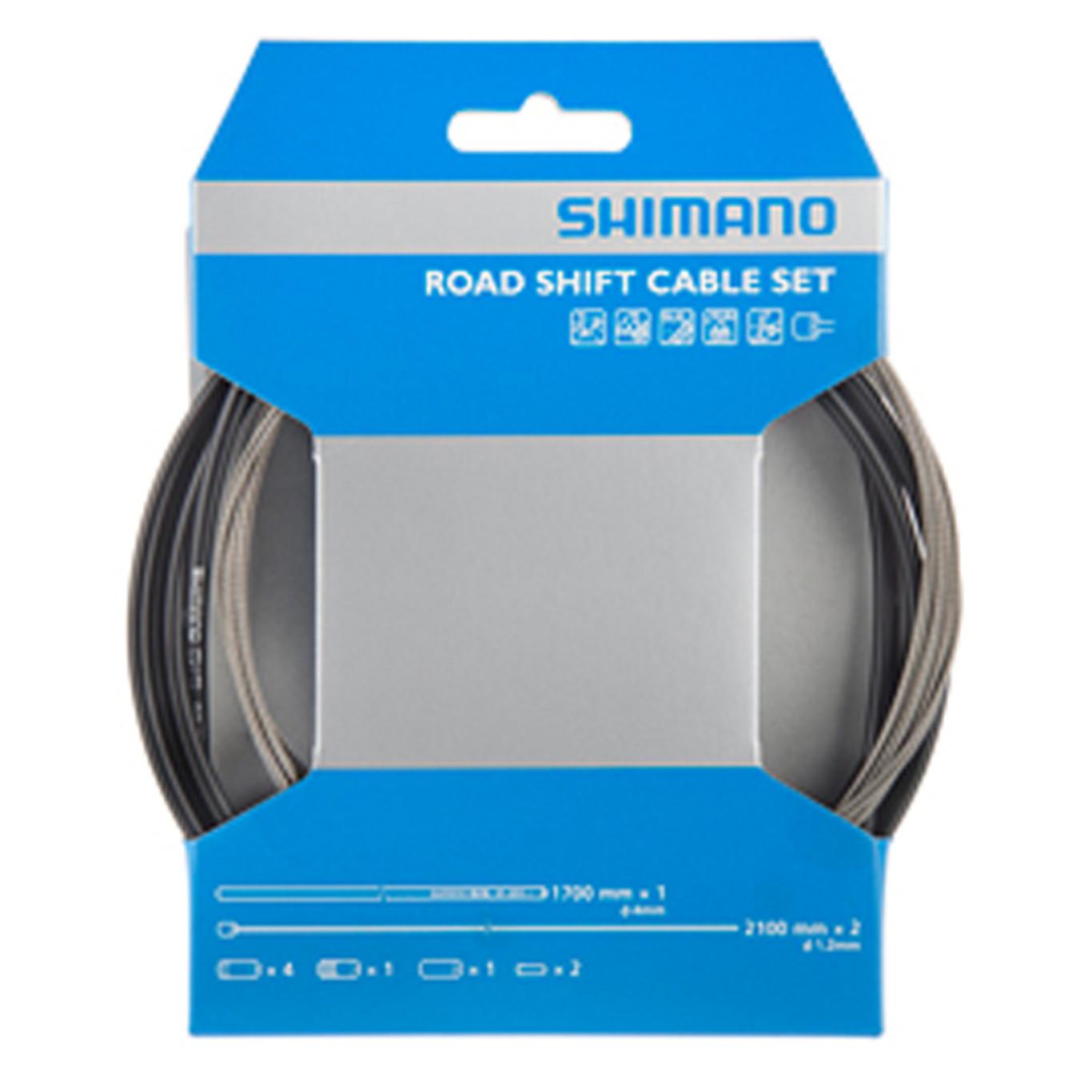 SHIMANO Shimano Zestaw Linek Przerzutki Ze Stali Nierdzewnej + Pancerz Ot-Sp41 (Y60098022)