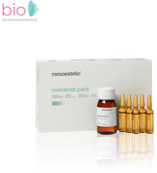 Mesoestetic Mesoéclat całoroczny zabieg anti-aging - zestaw (10 x 5 ml + 50 ml)