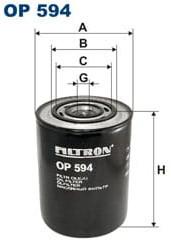 Filtron OP 597 FILTR OLEJU