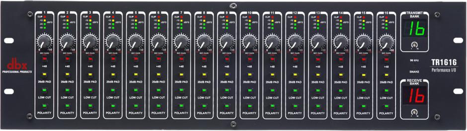dbx TR-1616 - Cyfrowy dystrybutor dźwięku. 57548