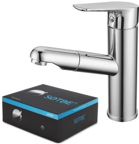 SOTBE INARI bateria umywalkowa z wyciąganą wylewką INA-SPO-50228232