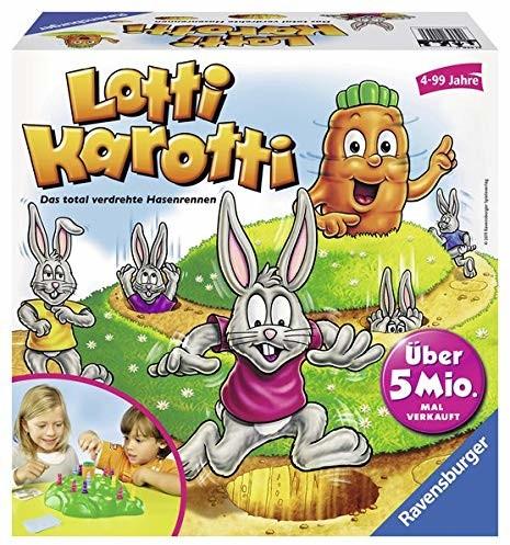 Ravensburger Lotti Karotti: całkowicie skręcone króliki zająców