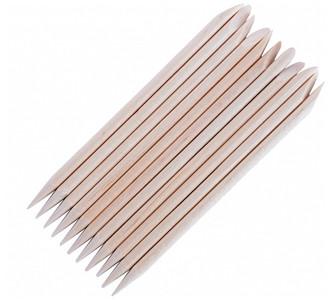 100 szt Patyczki drewniane skórek manicure