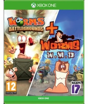 Worms Battlegrounds + Worms W.M.D (GRA XBOX ONE)