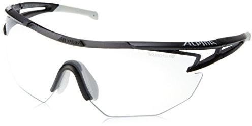 Alpina Eye-5 Shield VL+ okulary rowerowe, czarny, jeden rozmiar A 8545 1 31_Black Matt/White_One size