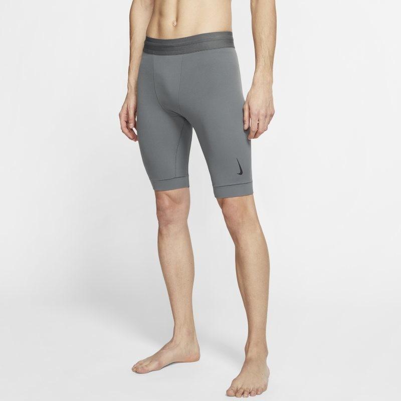 Nike Spodenki męskie Yoga Dri-FIT - Szary CJ8018-068