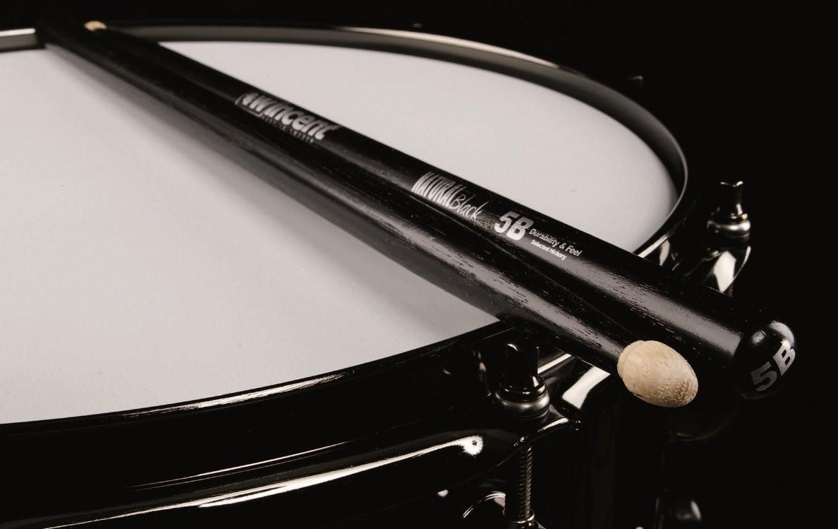 Wincent 5BCB pałki perkusyjne hikorowe czarne