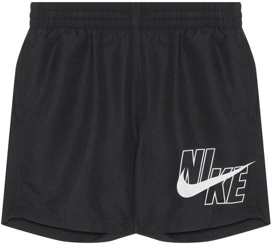 Nike Szorty kąpielowe Logo Solid NESSA771 Czarny Standard Fit