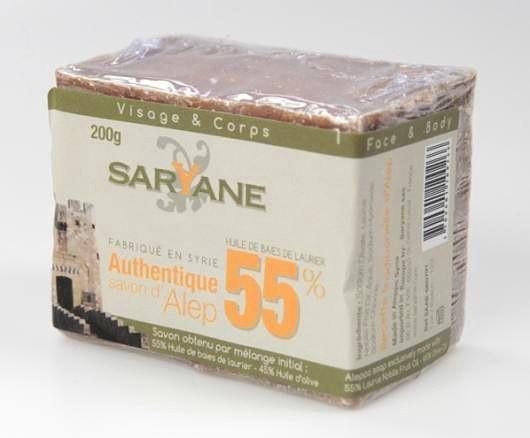 SATIS SA Mydło z Aleppo 55% 200g Saryane SA0266