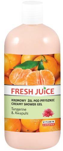 Green Pharmacy Pharm Fresh Juice kremowy żel pod prysznic Tangerine & Awapuhi 500 ml 7057401