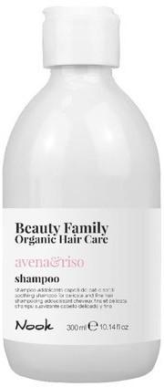 Organic Surge MAXIMA NOOK Nook Beauty Family Hair Care avena riso szampon 300ml
