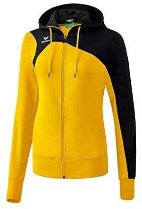 Erima damski Club 19002.0Training kurtka z kapturem, żółty 1070716