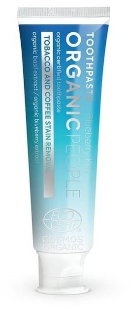 Organic People Organic People Organiczna certyfikowana pasta do zębów REDUKCJA PRZEBARWIEŃ 85g 52860-uniw