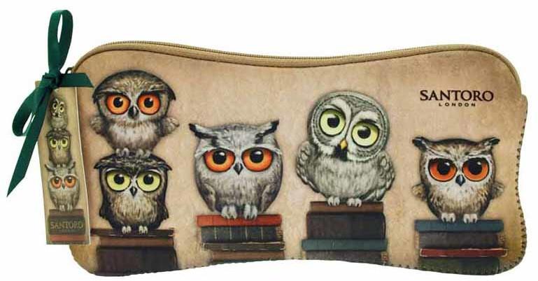 Santoro Santoro neoprenowe etui Book Owls 271EC11