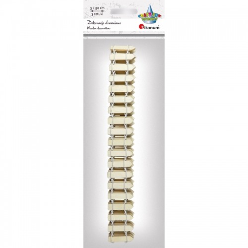 Titanum Drewniany Mini Płotek 3x90cm Craft-fun Series