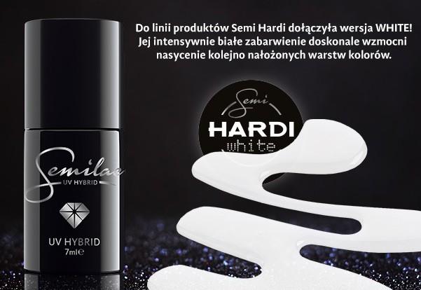 Semilac Semilac Hardi White - Budujący - 7 Ml 7045