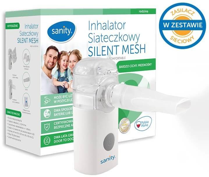 Sanity ALBERT POLSKA Inhalator siateczkowy Silent Mesh Albert | DARMOWA DOSTAWA OD 199 PLN!
