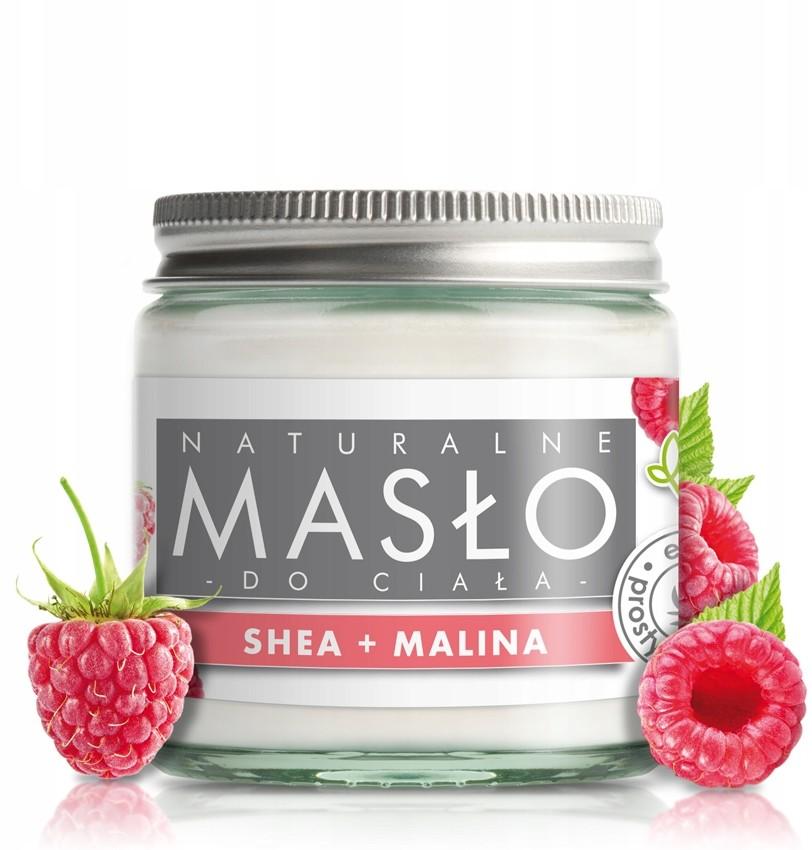 e-FIORE Masło do ciała Malinowe